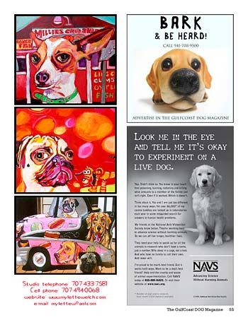 GulfCoast DOG Magazine page 55, 4-08